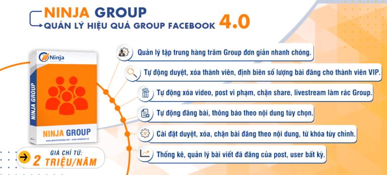 Phần mềm quản lý group